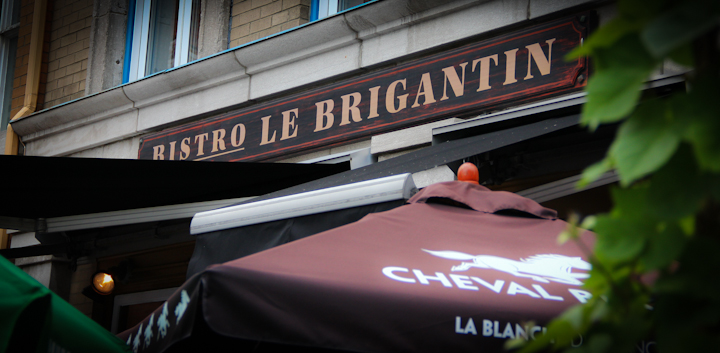 Accord met vin le brigantin par vinfrodom blogue restaurant - Restaurant vieux port de quebec ...